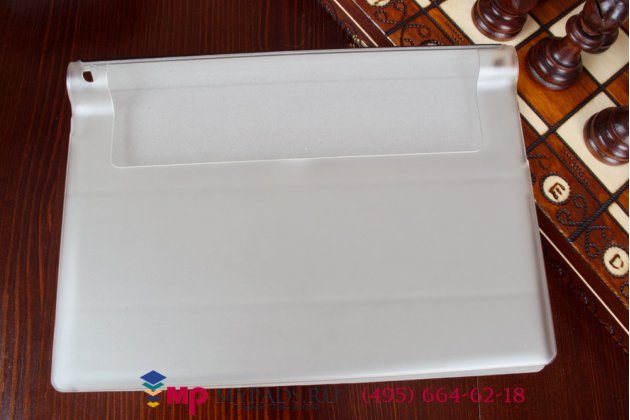 Фирменный чехол обложка для Lenovo Yoga Tablet 10 HD+ B8080-h черный пластиковый
