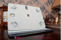 Чехол с вырезом под камеру для планшета MSI Enjoy 7 роторный оборотный поворотный. цвет в ассортименте