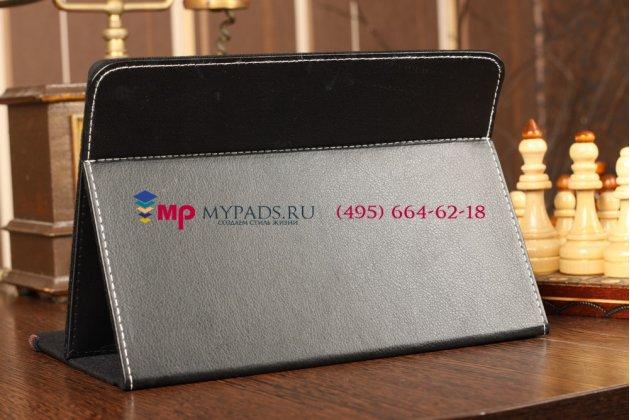Чехол-обложка для MSIS100 черный кожаный