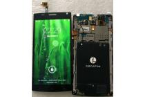 Фирменное LCD-ЖК-экран-сенсорное стекло-тачскрин для телефона Megafon Login + / Login PH/ Мегафон Логин Плюс + 5.5 черный и инструменты для вскрытия + гарантия