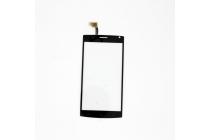 Фирменный сенсорный дисплей-стекло с тачскрином на телефон МегаФон Login+ черный + гарантия