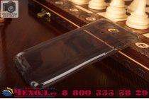 Фирменная ультра-тонкая полимерная из мягкого качественного силикона задняя панель-чехол-накладка для Meizu M1 note белая