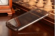Фирменная ультра-тонкая полимерная из мягкого качественного силикона задняя панель-чехол-накладка для Meizu M1 note черная
