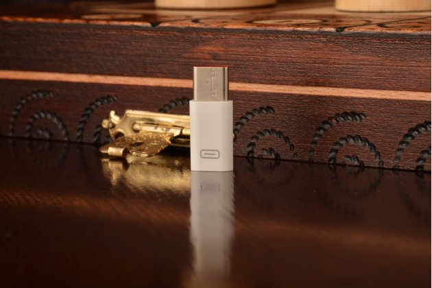 """Фирменный оригинальный USB-переходник / Type-C/ OTG кабель для телефона New Macbook 12"""" / Nokia N1 / One Plus Two 2 / Meizu Pro 5 + гарантия"""