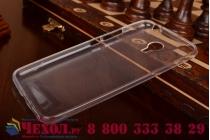 Фирменная ультра-тонкая полимерная из мягкого качественного силикона задняя панель-чехол-накладка для Meizu M2 note белая