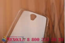 Фирменная задняя панель-крышка-накладка из тончайшего и прочного пластика для Meizu M2 note прозрачная