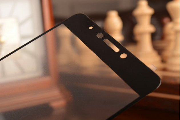 """Фирменное 3D защитное изогнутое стекло с закругленными изогнутыми краями которое полностью закрывает экран / дисплей по краям с олеофобным покрытием для Meizu M3 Max 6.0"""""""