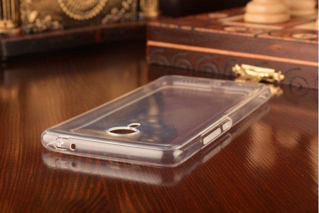 Фирменная ультра-тонкая полимерная из мягкого качественного силикона задняя панель-чехол-накладка для Meizu M3 Note прозрачная