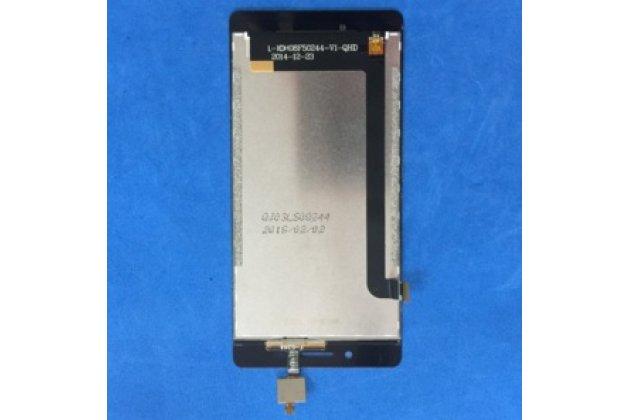 Фирменное сенсорное стекло-тачскрин для телефона Meizu M3 Note L681 черный и инструменты для вскрытия + гарантия