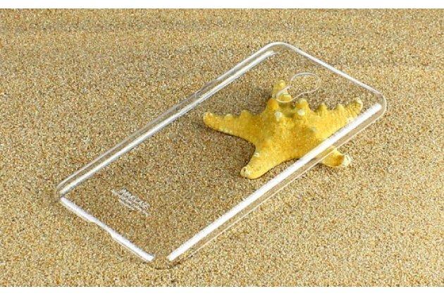"""Фирменная задняя панель-крышка-накладка из тончайшего и прочного пластика для Meizu M3 Note 5.5"""" (m681q/c)  прозрачная"""