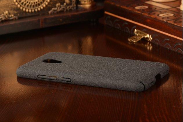 """Фирменная задняя панель-крышка-накладка из тончайшего и прочного пластика для Meizu M3/ M3 Metal/ M3S/ M3s Mini 5.0"""" (M688Q) черная"""