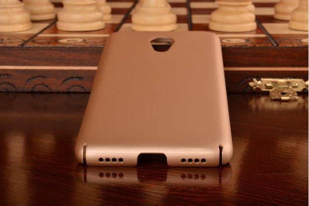 """Фирменная задняя панель-крышка-накладка из тончайшего и прочного пластика для Meizu M3/ M3 Metal/ M3S/ M3s Mini 5.0"""" (M688Q) золотая"""
