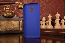 """Фирменная задняя панель-крышка-накладка из тончайшего и прочного пластика для Meizu M3/ M3 Metal/ M3S/ M3s Mini 5.0"""" (M688Q) синяя"""