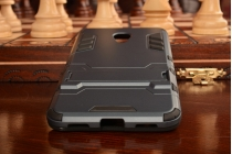 """Противоударный усиленный ударопрочный фирменный чехол-бампер-пенал для Meizu M3/ M3 Metal/ M3S/ M3s Mini 5.0"""" (M688Q) черный"""