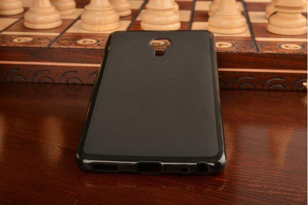 """Фирменная ультра-тонкая силиконовая задняя панель-чехол-накладка для Meizu M3 Max 6.0"""" черная"""