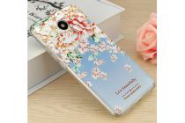 """Фирменная  задняя панель-крышка-накладка из тончайшего и прочного пластика для Meizu M3/ M3 Metal/ M3S/ M3s Mini 5.0"""" (M688Q) с 3D объёмным рисунком """"тематика садовые Розы"""""""