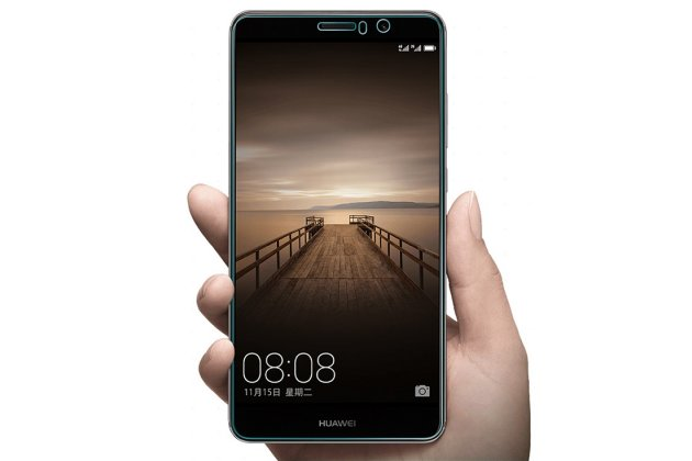 "Фирменная защитная пленка для телефона Huawei Mate 9 Pro 5.5"" (LON-L29) глянцевая"