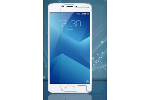 Фирменная защитная пленка для телефона Meizu M5 Note глянцевая