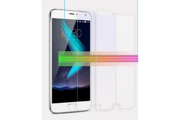 """Фирменное защитное закалённое противоударное стекло премиум-класса из качественного японского материала с олеофобным покрытием для телефона Meizu M5 Note"""""""