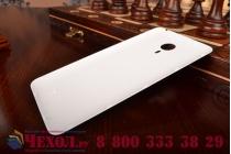 Родная оригинальная задняя крышка-панель которая шла в комплекте для Meizu MX4 Pro черная с логотипом (взамен родной)