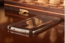 Фирменная ультра-тонкая полимерная из мягкого качественного силикона задняя панель-чехол-накладка для Meizu MX4 Pro черная