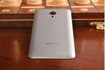 Родная оригинальная задняя крышка-панель которая шла в комплекте для Meizu MX4 Pro серая