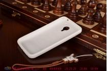 """Фирменная необычная уникальная полимерная мягкая задняя панель-чехол-накладка для Meizu MX4 Pro """"тематика Андроид в Белом Шоколаде"""""""