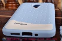 """Фирменная необычная уникальная полимерная мягкая задняя панель-чехол-накладка для Meizu MX4 Pro  """"тематика Андроид в черничном  Шоколаде"""""""