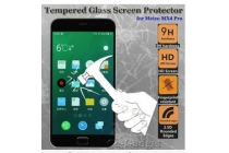 Фирменное защитное закалённое противоударное стекло премиум-класса из качественного японского материала с олеофобным покрытием для Meizu MX4 Pro