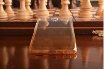"""Фирменная ультра-тонкая полимерная задняя панель-чехол-накладка из силикона для Meizu MX6 5.5"""" прозрачная с эффектом песка"""