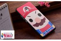 """Фирменная необычная уникальная пластиковая задняя панель-чехол-накладка для Meizu MX6 5.5"""" """"тематика супер Марио"""""""