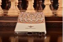 """Фирменная роскошная задняя панель-чехол-накладка из мягкого силикона с объемным  3D изображением  на Meizu MX6 5.5"""" с безумно красивым рисунком  """"Тематика Стильные узоры"""""""