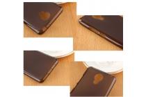 """Фирменная ультра-тонкая полимерная из мягкого качественного силикона задняя панель-чехол-накладка для Meizu Metal/ Meilan Metal /M57A/MA01 5.5"""" черная"""
