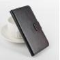 Фирменный чехол-книжка из качественной импортной кожи с подставкой застёжкой и визитницей для Meizu Metal/ Mei..