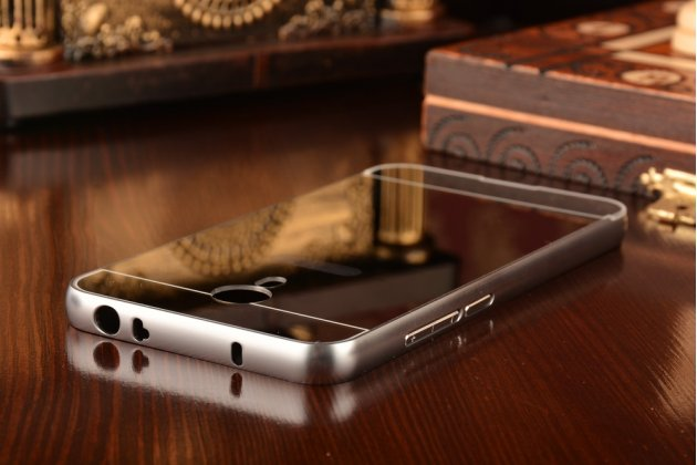 """Фирменная металлическая задняя панель-крышка-накладка из тончайшего облегченного авиационного алюминия для Meizu Metal/ Meilan Metal /M57A/MA01 5.5"""" серебристая"""