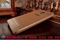 """Фирменная металлическая задняя панель-крышка-накладка из тончайшего облегченного авиационного алюминия для Meizu Metal/ Meilan Metal /M57A/MA01 5.5""""  золотая"""