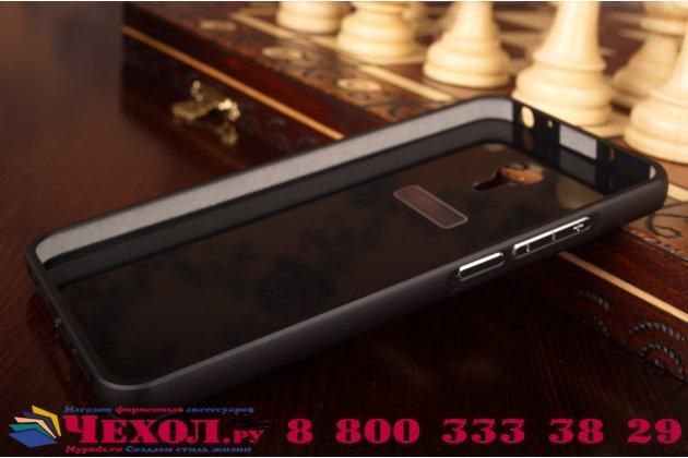 """Фирменная металлическая задняя панель-крышка-накладка из тончайшего облегченного авиационного алюминия для Meizu Metal/ Meilan Metal /M57A/MA01 5.5"""" черная"""