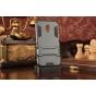 Противоударный усиленный ударопрочный фирменный чехол-бампер-пенал для Meizu Metal/ Meilan Metal /M57A/MA01 5...