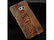 Фирменная неповторимая экзотическая панель-крышка обтянутая кожей крокодила с фактурным тиснением для  Meizu P..