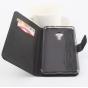 Фирменный чехол-книжка из качественной импортной кожи с подставкой застёжкой и визитницей для Мейзу Про 5 5.7