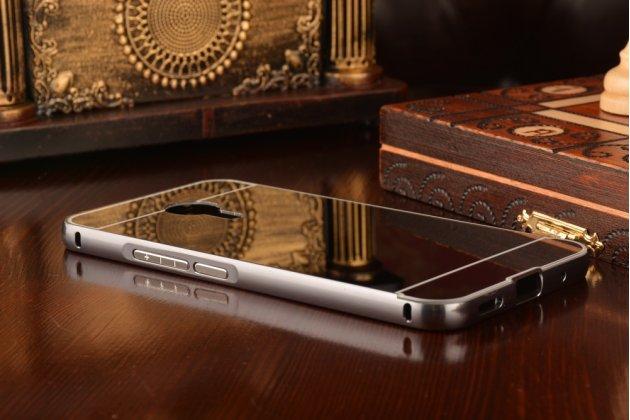 """Фирменная металлическая задняя панель-крышка-накладка из тончайшего облегченного авиационного алюминия для Meizu Pro 5 5.7"""" черная"""
