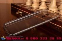 """Фирменная ультра-тонкая полимерная из мягкого качественного силикона задняя панель-чехол-накладка для Meizu Pro 5 5.7"""" черная"""
