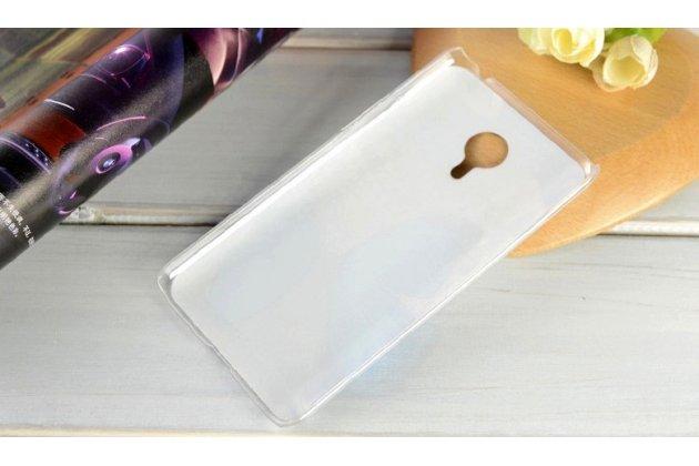 """Фирменная необычная из легчайшего и тончайшего пластика задняя панель-чехол-накладка для Meizu Pro 5 5.7"""" """"тематика Все цвета Радуги"""""""