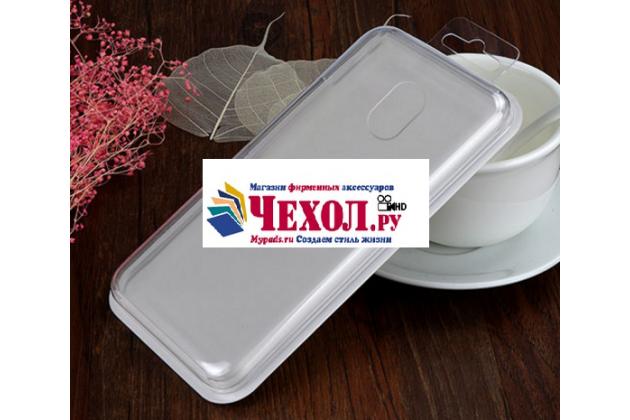 Фирменная ультра-тонкая полимерная из мягкого качественного силикона задняя панель-чехол-накладка для Meizu Pro 6 Plus прозрачная