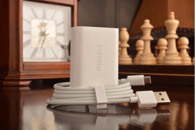 Фирменное оригинальное зарядное устройство от сети для телефона Meizu Pro 6 5.2 / Meizu Pro 6S + гарантия