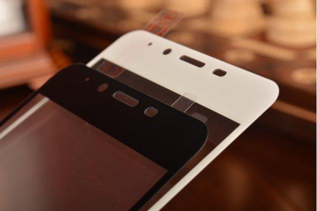 """Фирменное 3D защитное изогнутое стекло с закругленными изогнутыми краями которое полностью закрывает экран / дисплей по краям с олеофобным покрытием для Meizu U10 5.0"""""""