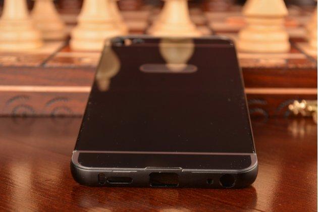 """Фирменная металлическая задняя панель-крышка-накладка из тончайшего облегченного авиационного алюминия для Meizu U20 5.5""""  черная"""