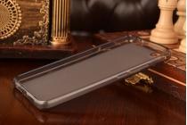 """Фирменная ультра-тонкая силиконовая задняя панель-чехол-накладка для Meizu U20 5.5"""" черная"""