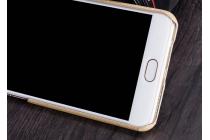 """Фирменная золотая из тончайшего и прочного пластика задняя панель-крышка-накладка обтянутая водоотталкивающей кожей  для Meizu M3/ M3 Metal/ M3S/ M3s Mini 5.0"""" (M688Q)  с объёмным 3D рисунком """"тематика Золото Лепрекона"""""""