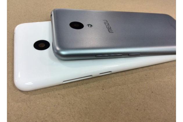 """Родная оригинальная задняя крышка-панель которая шла в комплекте для Meizu M3/ M3 Metal/ M3S/ M3s Mini 5.0"""" (M688Q) белая"""
